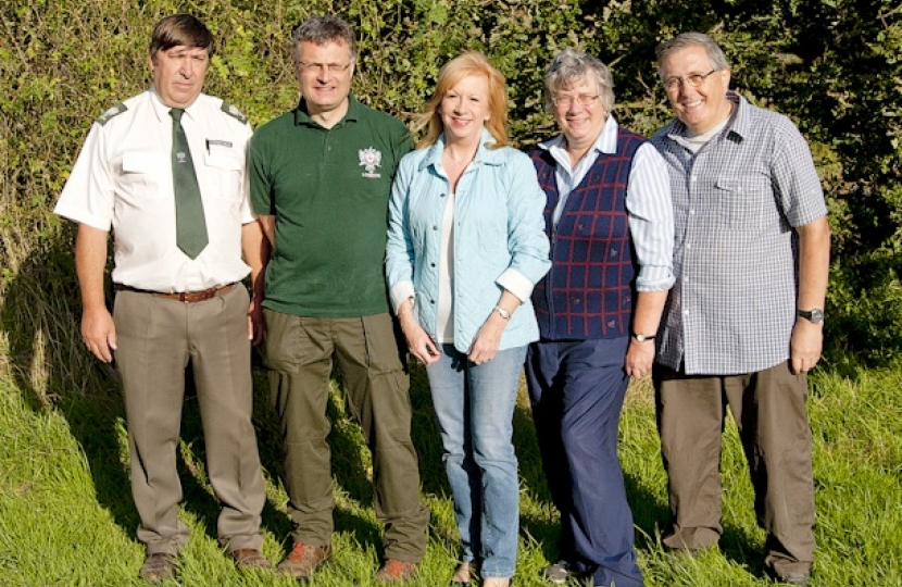 Eleanor Laing helps Friends of Epping Forest celebrate Epping Forest